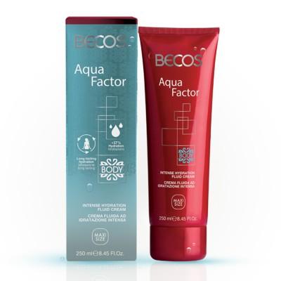 Aqua Factor Crème Fluide Hydratante Intense Pour Le Corps