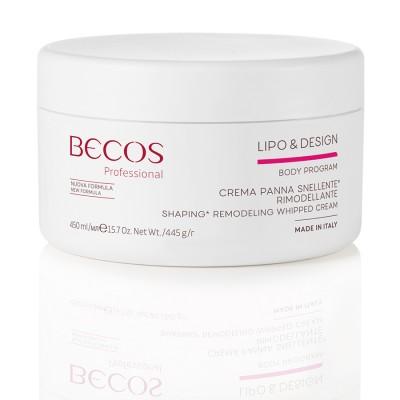 Lipo & Design Crème Professionnelle Amincissante Et Remodelante Ml 450