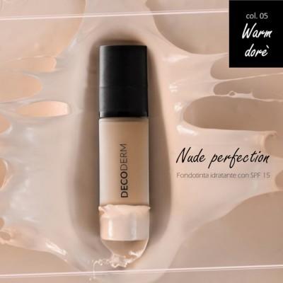 Decoderm Nude Perfection Fond De Teint Hydratant Spf15 Col.05
