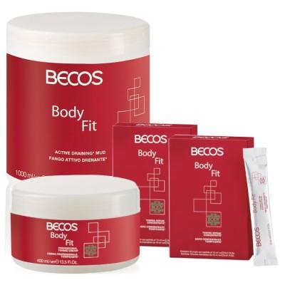 Body Fit Professional- Boue D'égouttage Et Sérum (20) Cellulite + 400 Ml De Tonique